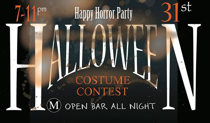 Halloween Horror Event/ Costume Contest