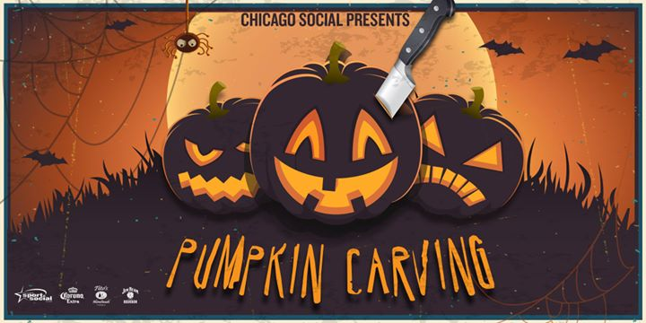 Pumpkin carving at benchmark chicago il oct