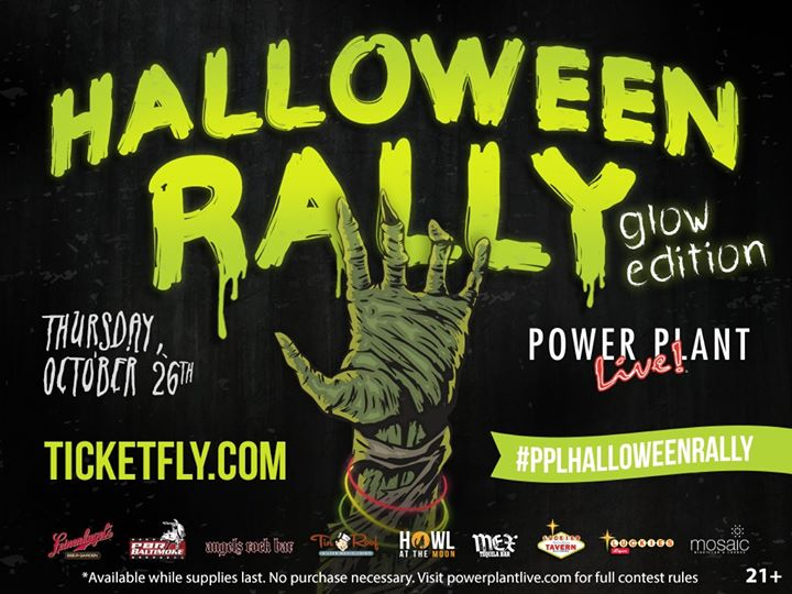 Halloween Rally at Power Plant Live