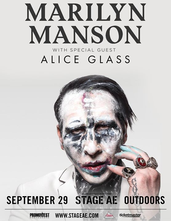 Marilyn Manson at Stage AE Outdoors! - Presented by 105.9 The X