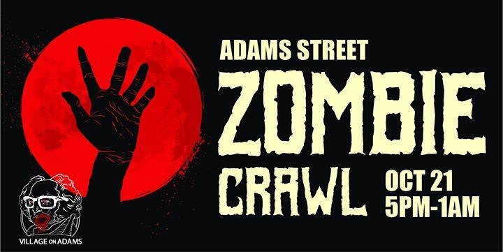 Adams Street Zombie Crawl 2017