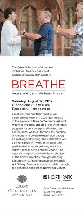 Breathe: Veterans Art and Wellness Program
