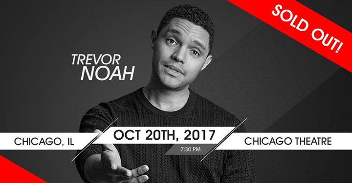 Trevor Noah - Chicago, IL (SOLD OUT)