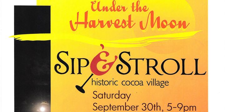 Sip & Stroll Under the Harvest Moon