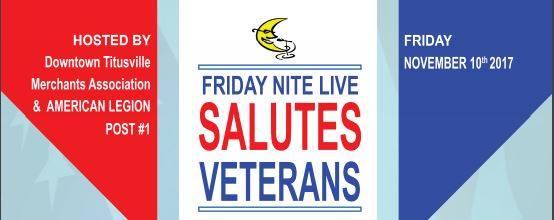 Friday Nite Live Salutes Veterans