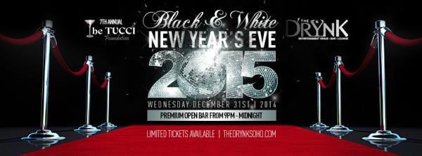 7th Annual Black & White Tucci's NYE