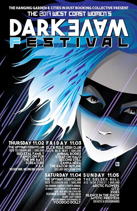 The West Coast Women's Darkwave Festival 2017