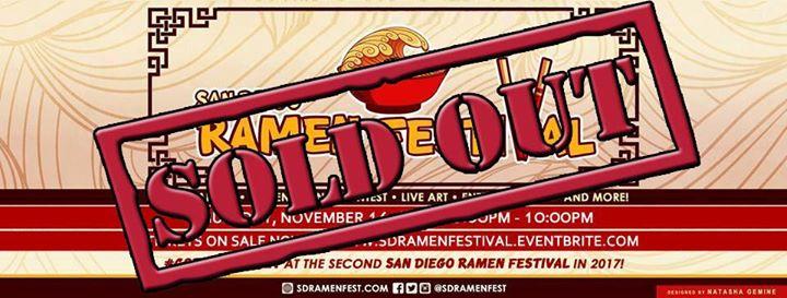 San Diego Ramen Festival 2017