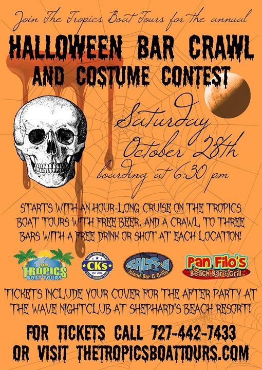 Halloween Bar Crawl & Costume Contest