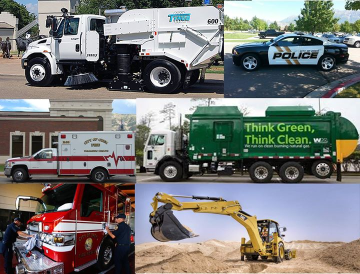 Touch-a-Truck sponsored by Waste Management