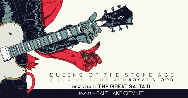Queens of the Stone Age - Villains World Tour 2017 at The Complex