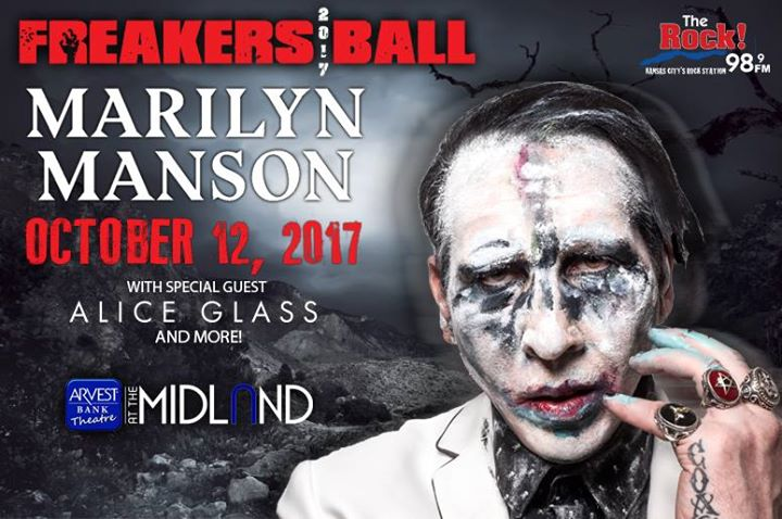 98.9 The Rock's Freakers Ball with Marilyn Manson