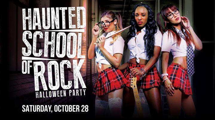 Haunted School of Rock Halloween Party