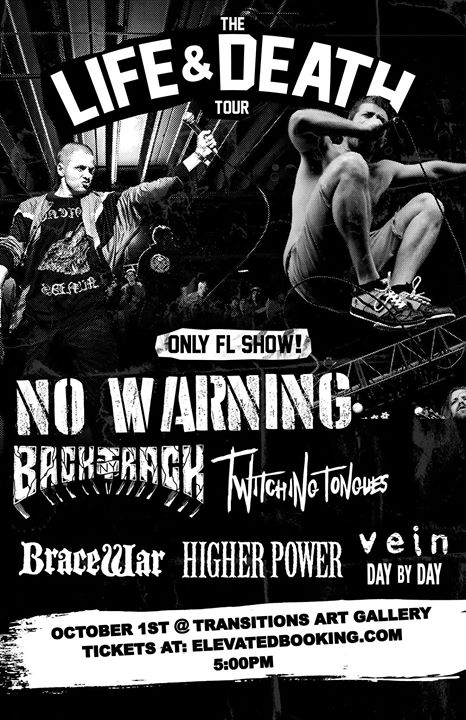 Life And Death Tour 2017 w: No Warning, Backtrack and more.
