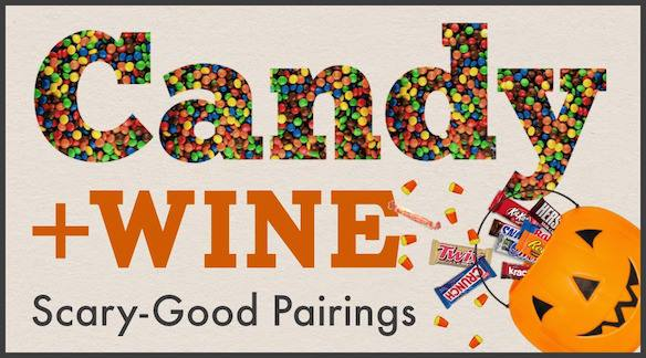 Halloween Candy & Spooky Wine Themed Pairing Event 10/26