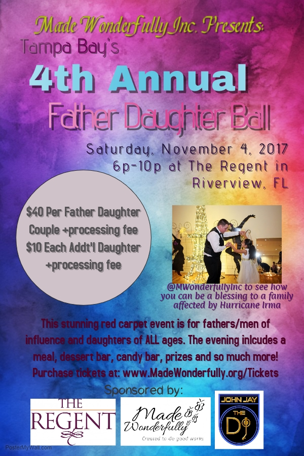 Tampa Bay's 4th annual Father Daughter Ball