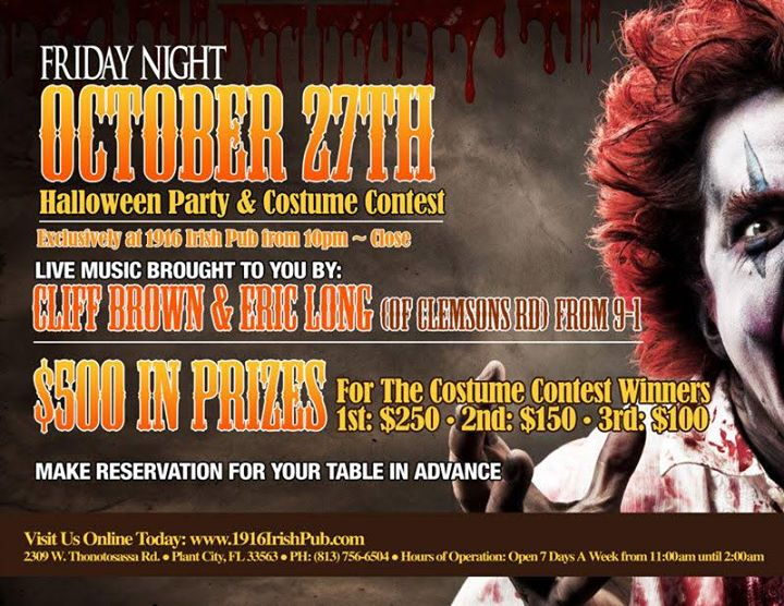 Biggest Halloween Party In Plant City!