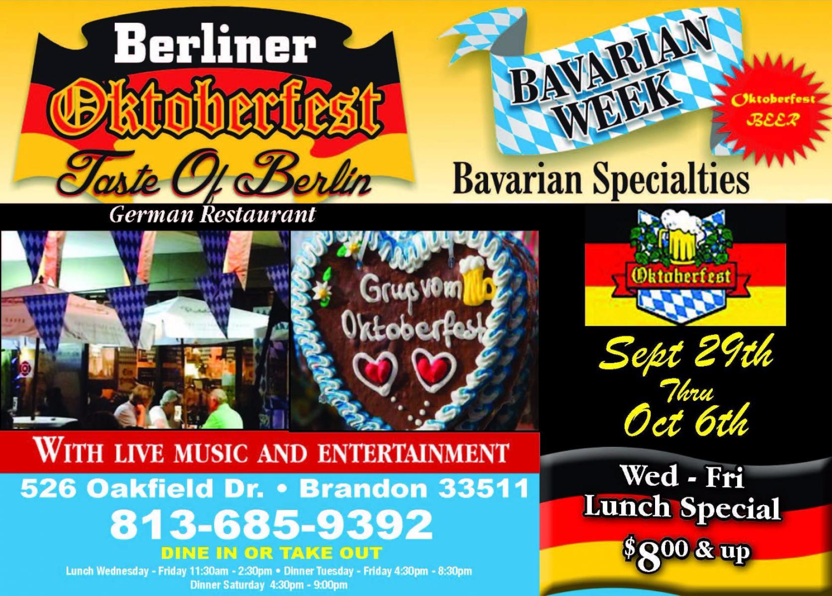 Oktoberfest Bayerische Woche