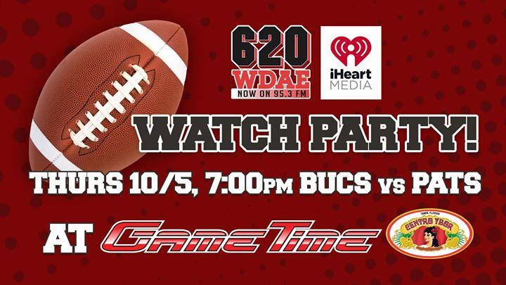 WDAE Watch Party at GameTime Ybor!
