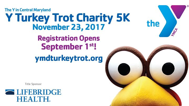 Y Turkey Trot Charity 5K - Ellicott City