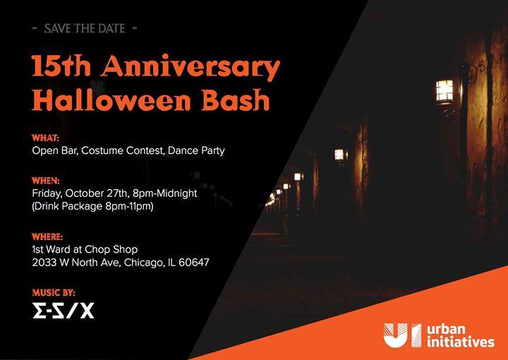 15th Anniversary Halloween Bash