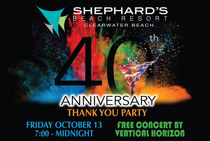 Shephard's 40th Anniversary Party