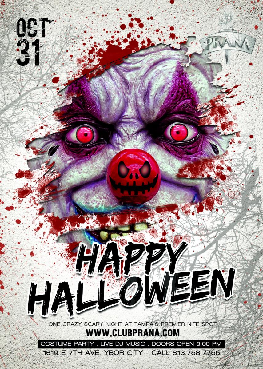Halloween Party at Club Prana