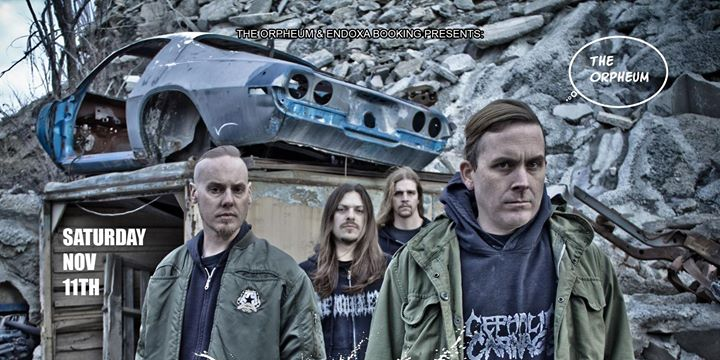 Cattle Decapitation at The Orpheum