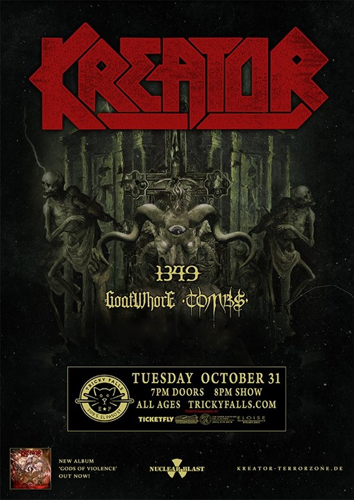 Kreator at Tricky Falls
