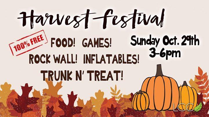 LCC Harvest Festival 2017