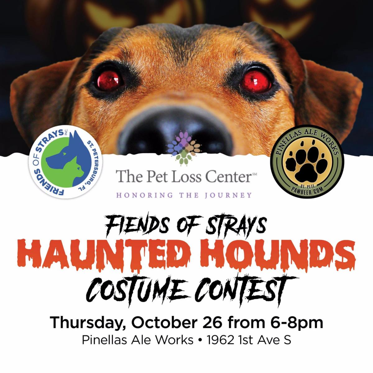 Fiends of Strays Haunted Hounds Costume Contest