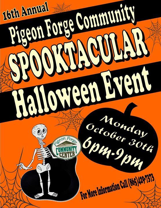 Pigeon Forge Halloween Spooktacular