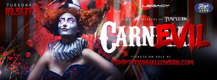 Temptation - A Night at the CarnEvil Halloween Party