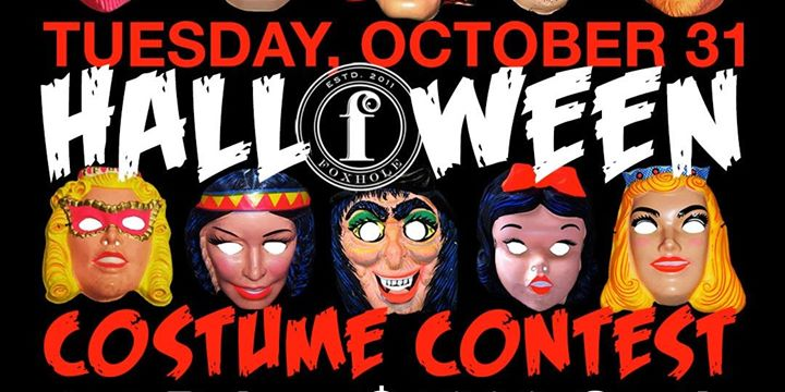 Halloween Costume Contest at Foxhole Bar