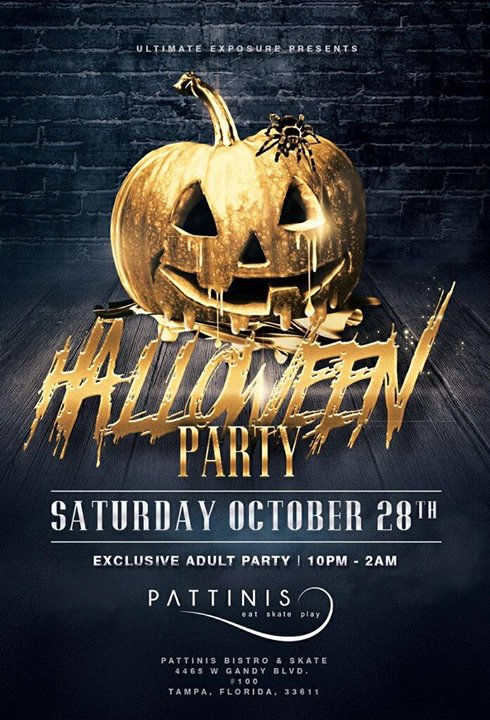 Halloween Party at Pattinis