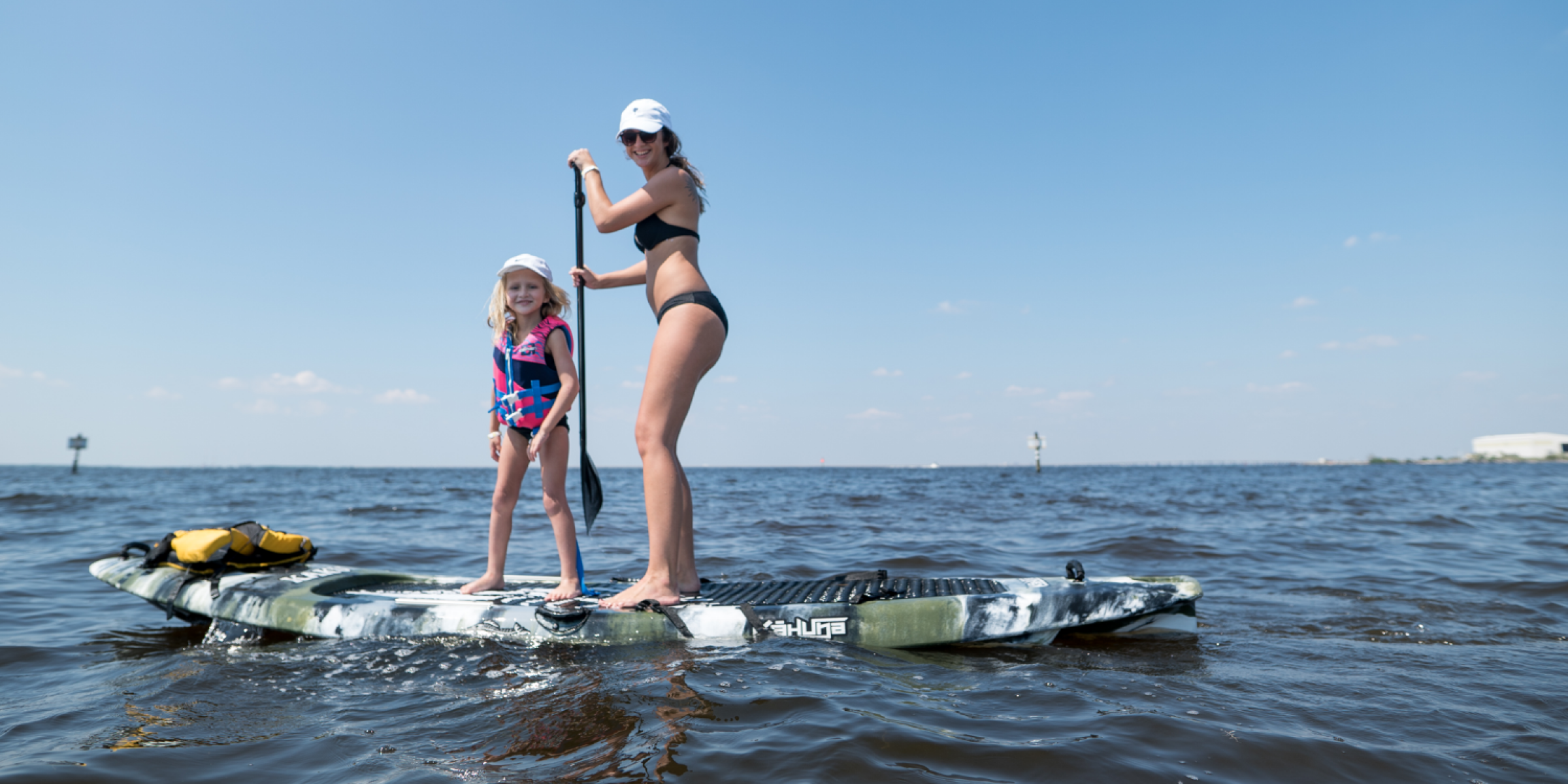 Get Up & SUP! Intro to Stand Up Paddle Boarding