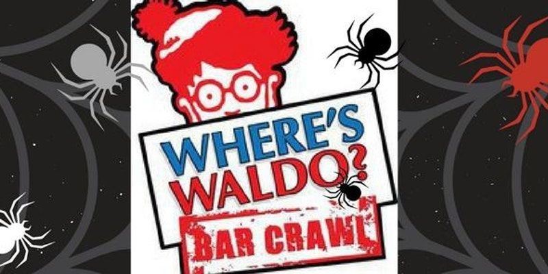 3rd Annual WHERE'S WALDO? The Ultimate Wynwood Bar Crawl