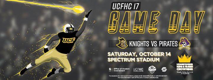 Homecoming Game Day UCF Knights vs. East Carolina Pirates