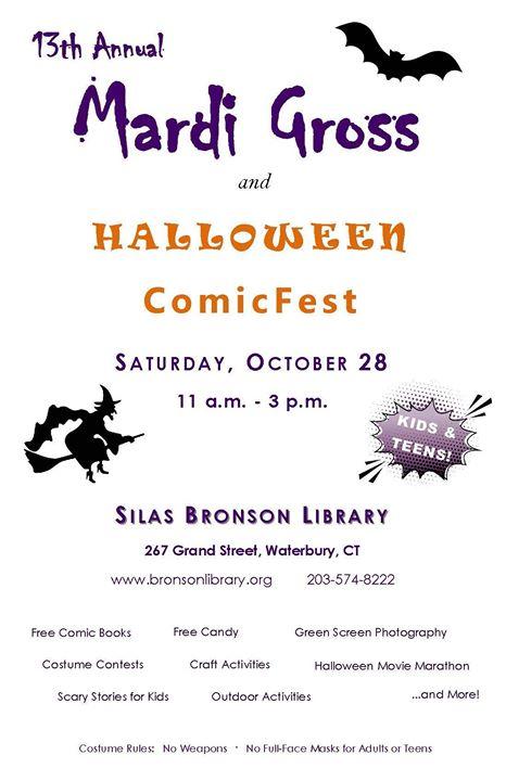 Mardi Gross & Halloween ComicFest