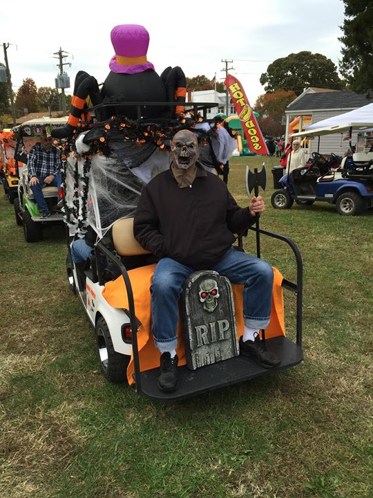 4th Annual Fall Festival and Halloween Golf Cart Parade