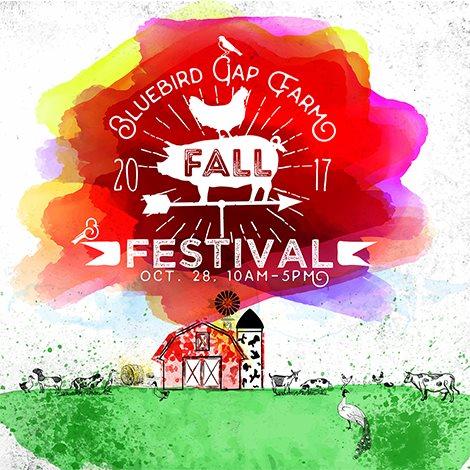Bluebird Gap Farm Fall Festival
