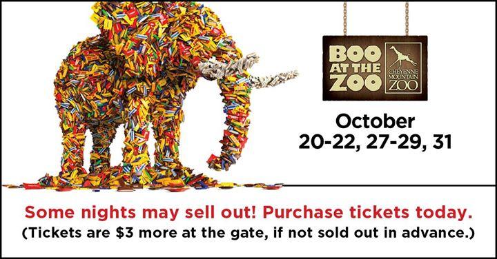 Boo at the Zoo - 7 Nights of Halloween Fun!