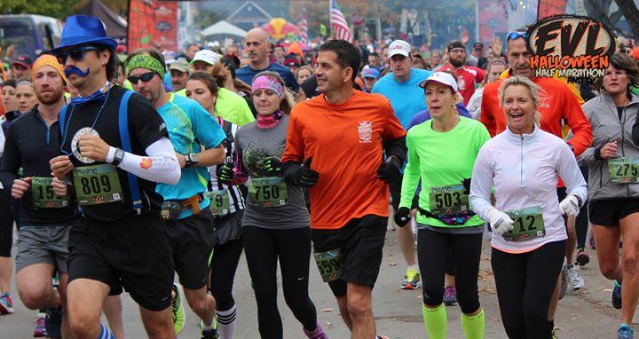 EVL Halloween Half Marathon 2017