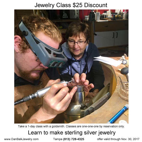 Silversmithing Workshop For Beginners