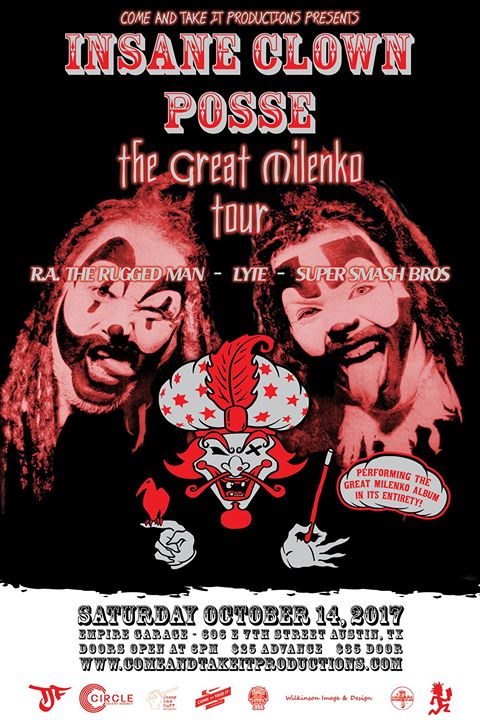Insane Clown Posse - 'The Great Milenko' 20 Year Tour