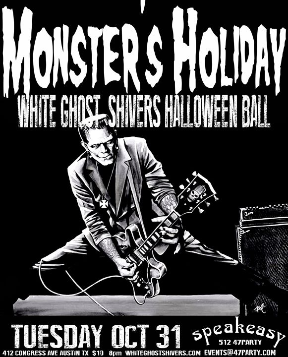 White Ghost Shivers 14th Annual Halloween Ball