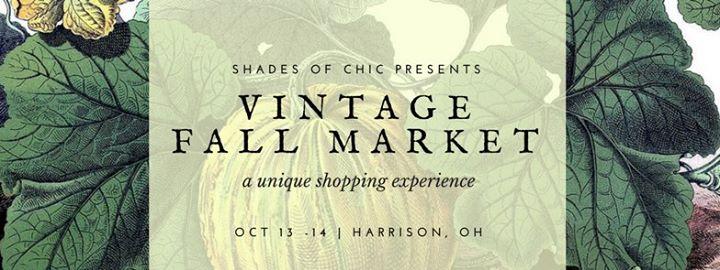 Vintage Fall Market