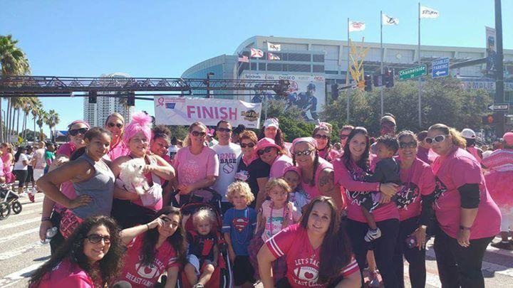 Breast cancer walk orlando fl