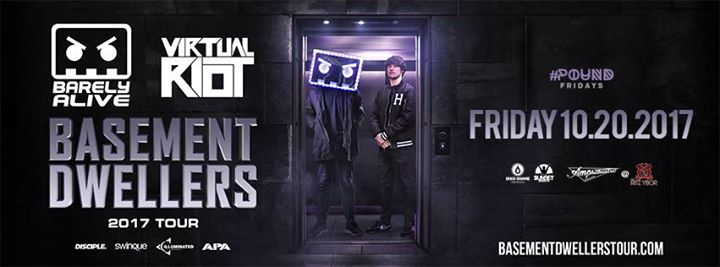 Virtual Riot Basement Dwellers Tour