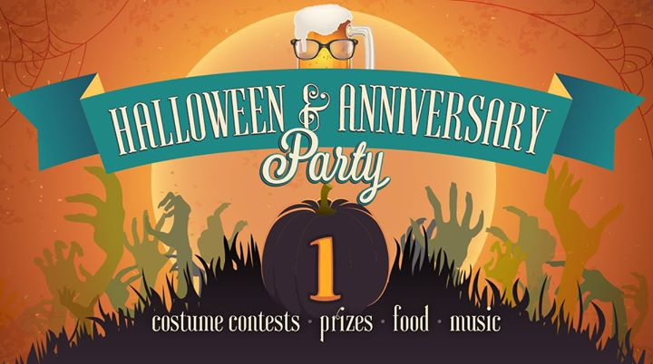 1st Halloween & Anniversary Party!